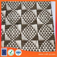 Buy cheap natural raffia upholstery fabric wholesale raffia woven fabric from wholesalers