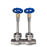 Buy cheap Casting Stainless Steel Globe Valve DN25 PN40 CF8 Cryogenic Valve from wholesalers