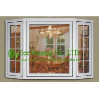 Buy cheap PVC Bay Windows With Clear Glass For Villas/Apartment, Energy efficient vinyl windows from wholesalers