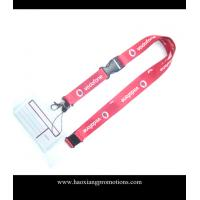 Buy cheap Cheap Custom pink Lanyard print your logo No Minimum Order With Any Hook from wholesalers