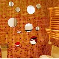 Buy cheap Elegant Wall Art Mirror Coloured Acrylic Sheet Used In Rectaurant from wholesalers