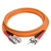 Buy cheap SC-ST om3 fiber patch cord with single-mode LSZH jacket from wholesalers