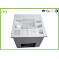 Buy cheap Fan Powered Hepa Filter Diffuser , Custom Air Filter Box Air Supply Grille from wholesalers
