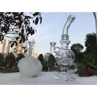 10 Inches Glass Water Bubblers Clear Oil Rig Dabs Egg Smoking Water Pipes
