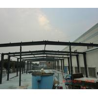 Buy cheap Modern Light Steel Frame Building , Q235 / Q345 Rustproof Large Span Steel Structures product