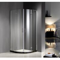 Buy cheap 900X900X1900 6MM tempered glass Professional Hinged Quadrant Shower Enclosure , Curved Corner Shower Units from wholesalers
