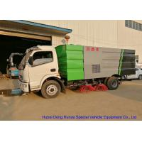 Buy cheap Street Road Sweeper Truck , Vacuum Sweeper Truck For Parking Lot / Airport Road from wholesalers