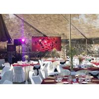Buy cheap 10x6 Feet Portable HD LED Dsiplay Led Video Screen For Birthday Party Events from wholesalers