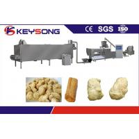 Buy cheap Textured Soya Protein Food Production Equipment , Nuggets Food Extruder Machine from wholesalers