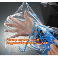 Buy cheap Large Size Good Quality Biohazard PE Disposable Waste Bag Thick Plastic Asbestos Bag from wholesalers