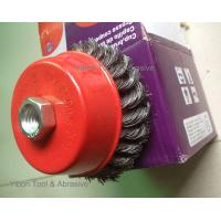 Buy cheap Twist Cup polishing brush from wholesalers