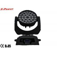 Buy cheap Professional 36 PCS 10 Watt 4 In 1 Led Moving Head Lights Zoom  LCD Display  X-13 from wholesalers