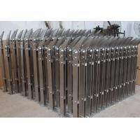Buy cheap Indoor Stainless Steel Staircases glass Railing Post satin finish made in China from wholesalers