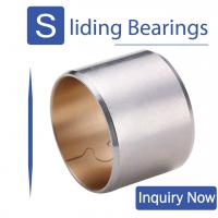 Buy cheap Bimetal 800 Split Type Bimetal Bearing Bushes Buckle Steel Backed Solid Sleeve Bushing from wholesalers