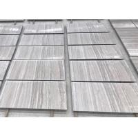 Buy cheap White Wooden Veins Marble Stone Slab 305x305x10mm 305x610x10mm 600x600x18-20mm from wholesalers