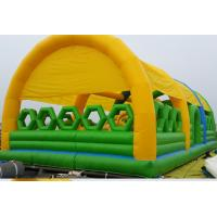 Buy cheap New Design Commercial Outdoor Children Inflatable Amusement Park with Cover Tent from wholesalers