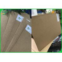 Buy cheap FSC Certified 250gsm - 850gsm High Grade Imported Paper Solid Board , Brown Kraft Paper from wholesalers