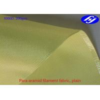 Buy cheap Bullet Proof Aramid Carbon Fiber 1000D 200GSM With High Temperature Resistance from wholesalers
