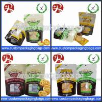 Buy cheap Waterproof Reclosable Plastic Ziplock Stand Up Pouches For Biscuits from wholesalers