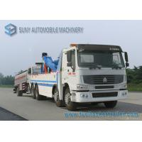 Buy cheap 12 Wheeler HOWO Heavy Duty Wrecker With INT 60 Recovery Truck Body from wholesalers