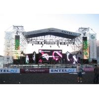 Vivid Picture Pitch 8mm LED Screen , LED TV Advertising Displays Long Lifespan