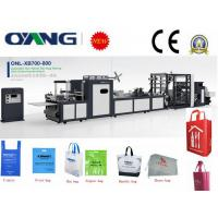 Buy cheap Full automatic non woven tote bag making machine with handle from wholesalers