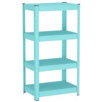 Buy cheap Blue / Pink Steel Shelving Racks, 3 - 5 Layers For Flower Easy Installation from wholesalers