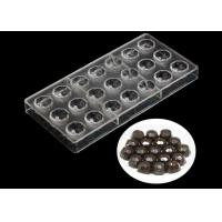 Buy cheap Transparent Plastic Silicone Chocolate Molds , Pudding Silicone Jelly Moulds from Wholesalers