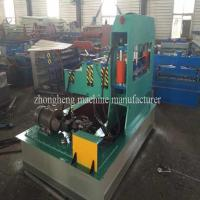 China Metal Sheet Roof Profile Hydraulic Crimping Machine 3 rows With PLC Control on sale