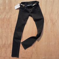 Buy cheap womens modern pants,with multiplex element decoration design,fur and metal combined pocket from wholesalers