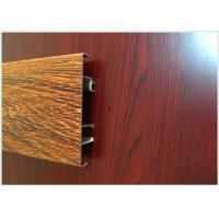 Buy cheap Mechnically Polishing Wood Finish Aluminium Profiles Coating 6.5 Meters from wholesalers