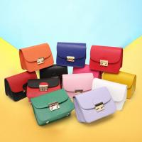 Buy cheap 2017 new first layer genuine leather shoulder bag Messenger small square bag lady mini chain with lock bag from wholesalers