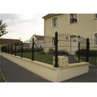 Buy cheap Outdoor PVC Coated 3D Wire Mesh Fence / Welded Garden Fence Panels from wholesalers