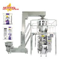 Buy cheap Automatic Puffed Rice Snacks Food Pouch Packaging Machine Nitrogen Flushing from wholesalers