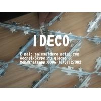 Buy cheap Stainless Steel Expanded Metal Razor Mesh Panels, Welded Razor Wire Mesh, Razor Strips Fences from wholesalers