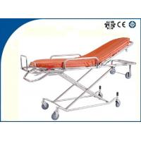 Buy cheap Light Weight Foldable Aluminum Alloy Ambulance Trolley Stretchers Auto Loading for Outdoor Rescue from wholesalers