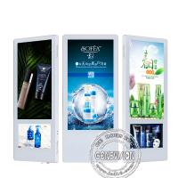 Buy cheap wall mounted HD 18.5inch+10inch Dual screen indoor LCD elevator advertising screen display from wholesalers