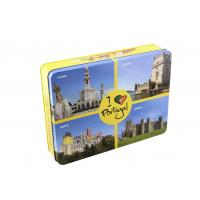 Buy cheap Tin Lunch Boxes Rectangle Gift Tin Box  Metal Rectangular Tin Box Vintage Tea Tin from wholesalers