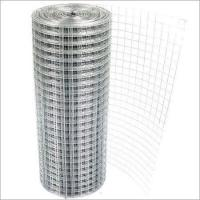 Buy cheap Hot Dipped Galvanized Welded Wire Mesh 12 Gauge 1 Inch Square Hole 300~2500mm Width from wholesalers