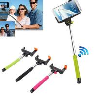 Buy cheap Extendable Selfie Bluetooth Monopod , Wireless Selfie Stick For iPhone Samsung from wholesalers