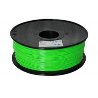 Buy cheap Blue green to yellow green color 3d printer filaments ABS 1.75mm 1kg Material MakerBot/RepRap/UP/M product