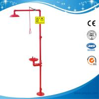 Buy cheap SH712BSR-Safety shower & eyewash station,SS304 emergency shower and eye wash from wholesalers