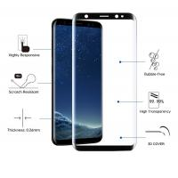 Buy cheap 9H Hardness 2.5 D Tempered Glass Screen Protector Anti Fingeprint / Oil / Dust from wholesalers