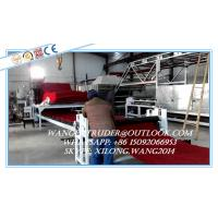 Buy cheap Plastic PVC Cushion Mat Carpet Extrusion Line / Manufacturing Machine from wholesalers