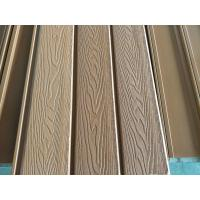 Buy cheap 148x21 3D Embossing wpc wall panel wpc composite wall cladding from wholesalers