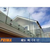 Buy cheap best-selling fashionable stainless steel glass balcony railings from wholesalers