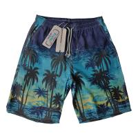 Buy cheap Summer HOT Quick Dry Men Shorts Brand Summer Casual Clothing Coconut Trees Swimwears Beach Shorts Men's Seaside Board Sh from wholesalers