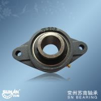 1 1/2 Inch Bearing , Cast Iron Pillow Bearing Block With Low Vibration UCFL208-24