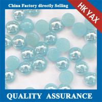 Buy cheap China manufacture hotfix ceramic pearl,pearl ceramic hotfix stone,wonderful decration hotfix ceramic pearl from wholesalers