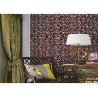 Buy cheap Three Dimensional Modern Removable Wallpaper Flower Pattern , Eco - Friendly from wholesalers